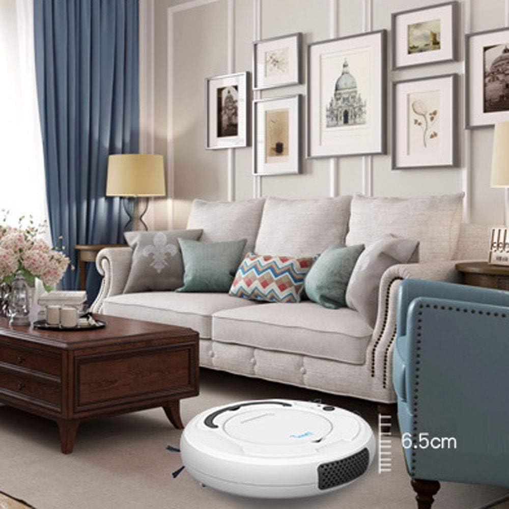 LIUCHANG Robot de Balayage Intelligent, aspirateur, la Charge des ménages, Trois-en-Un Robot de Balayage, Don d\'appareils ménagers liuchang20 (Color : White) Black