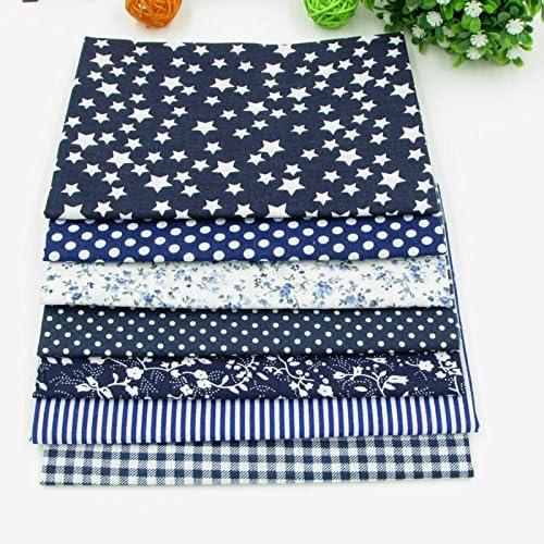 Top Cotton Fabric Bundle Squares Patchwork DIY Sewing Scrapbooking Quilting Floral Pattern Artcraft SHENGZE 84pcs 9.8 x 9.8 25cm25cm
