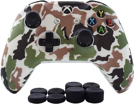 Hikfly - Juego de protectores de silicona para mando de Xbox One ...