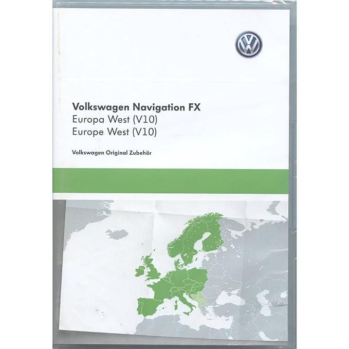 Volkswagen 3 C8051884dd Tarjeta SD de navegación V10 Europa RNS ...