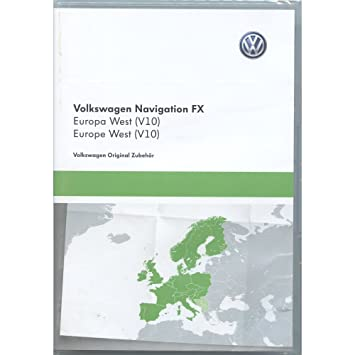 Volkswagen 3 °C8051884DD SD Card Navigation V10 Europe
