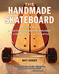 The Handmade Skateboard is the definitive book on building custom skate decks of all shapes and sizes, from the high-performance street deck to the classic longboard to a vintage pinstripe cruisers that will turn heads everywhere you go. When...