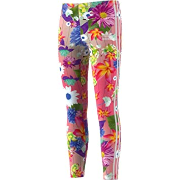adidas Graphic Allover Printed Tight Kinder, MultcoWhite