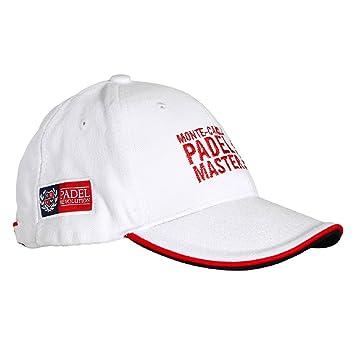 PADEL REVOLUTION - Gorra Oficial Monte-Carlo Padel Master Color Blanco: Amazon.es: Deportes y aire libre