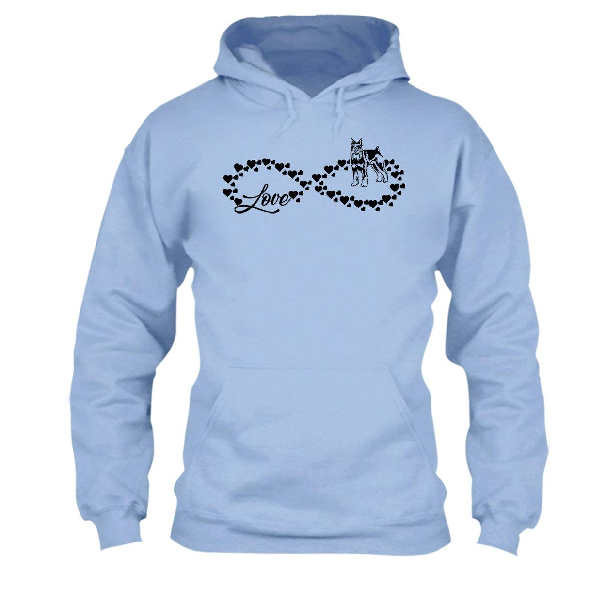 Sweatshirt Design Love Schnauzer Infinity T Shirt Tee Shirt