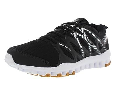 efae72d51318 Reebok Realflex Train 4.0 Training Women s Shoes Size 6 Black White