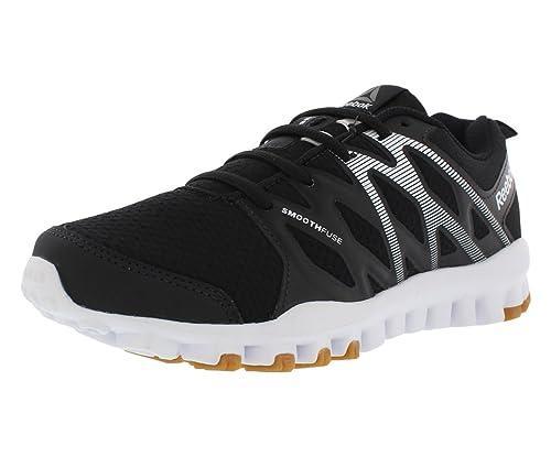 750f869e6339 Reebok Women s Realflex Train 4.0 Training Shoes Black White 9 M US ...