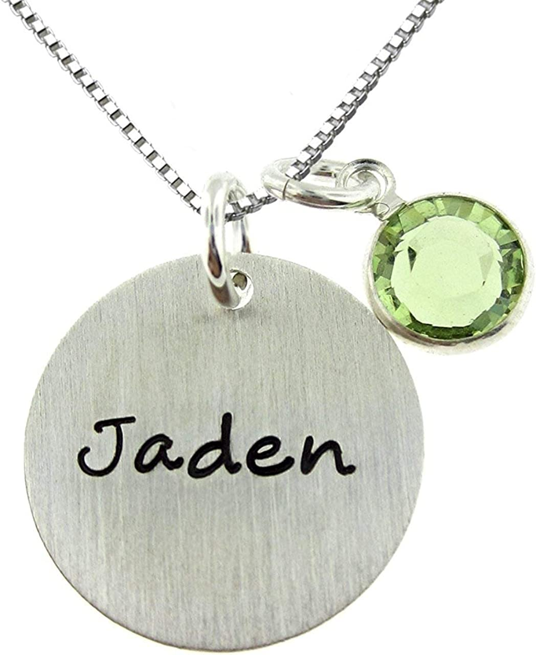 Shineyou Personalized Name Family//Kids//Women//Men//Pet Photo Silver Necklace Pendant Chain Customized Best Gifts