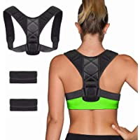 Posture Corrector for Men and Women, ShowTop Back Brace Posture Corrector for Clavicle Support and Providing Pain Relief from Neck, Back & Shoulder