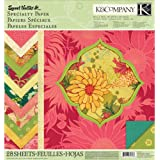 K&Company Sweet Nectar Mod 12-by-12-Inch Specialty Paper Pad