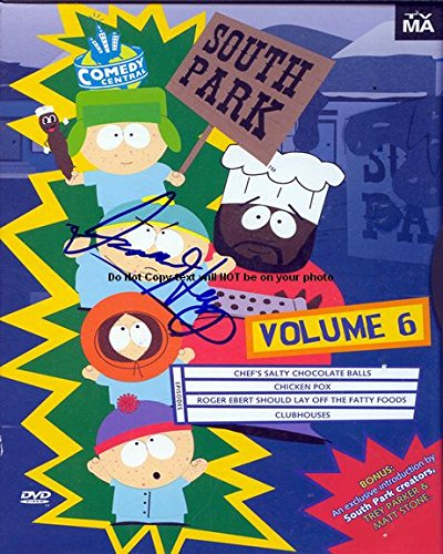 Isaac Hayes South Park Autographed Preprint Signed Photo (Hayes Signed Photo)