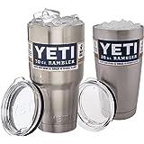 Yeti Rambler Insulated Tumbler Cup Mug Combo, 20 oz./30 oz.