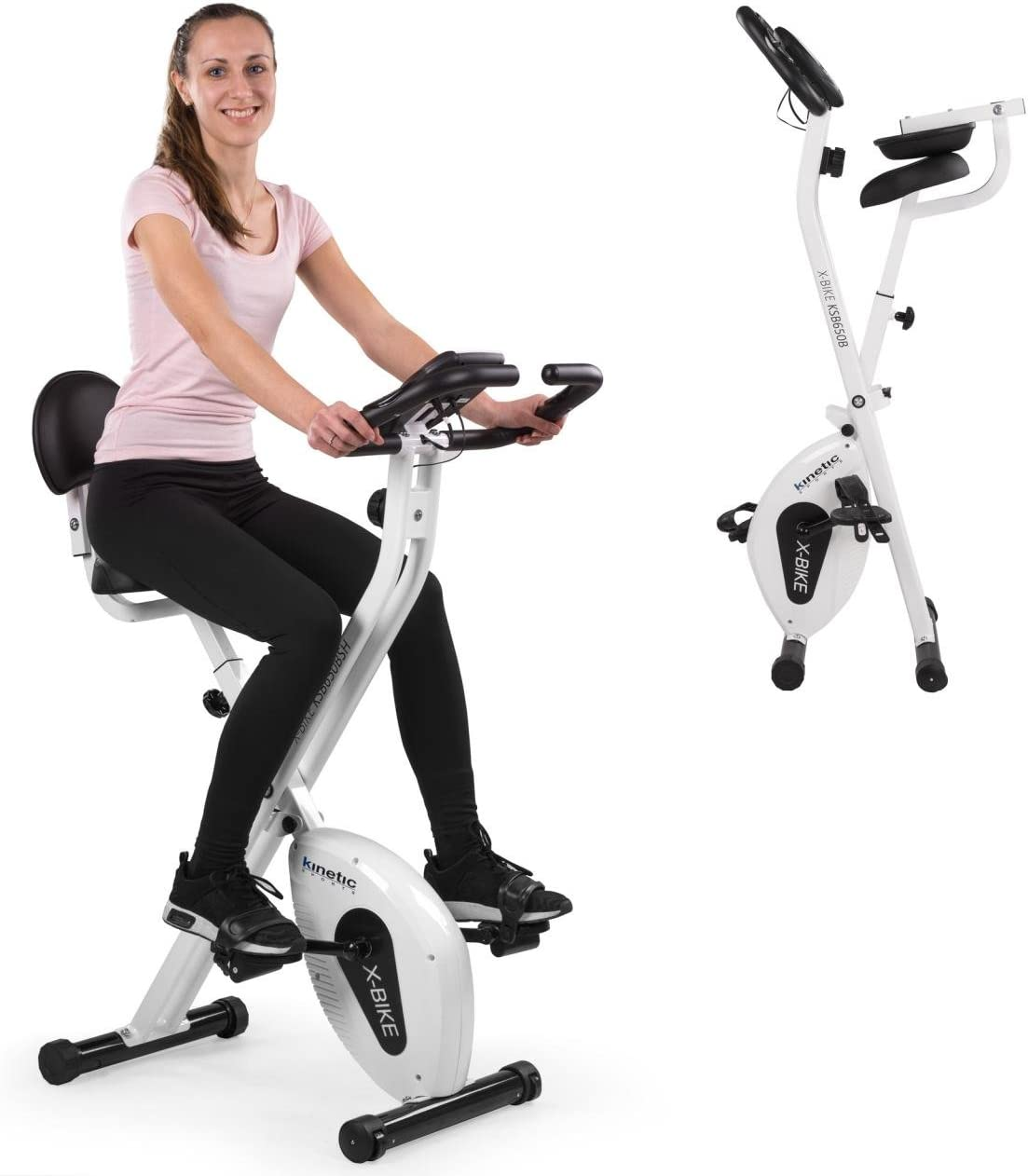 Kinetic Sports Indoor F de Bike Fitness Bicicleta Estática ...