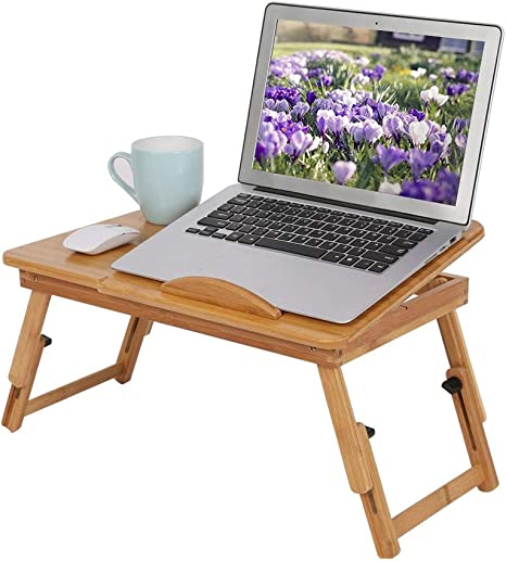 Laptop Computer Rest Holder Cushion Portable Cozy Desk Cart Couch Bed A