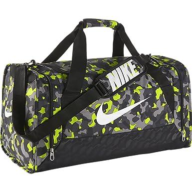 ba23246cf Nike Brasilia 6 Duffel Graphic Medium Duffel Volt/Black/White: Amazon.ca:  Clothing & Accessories