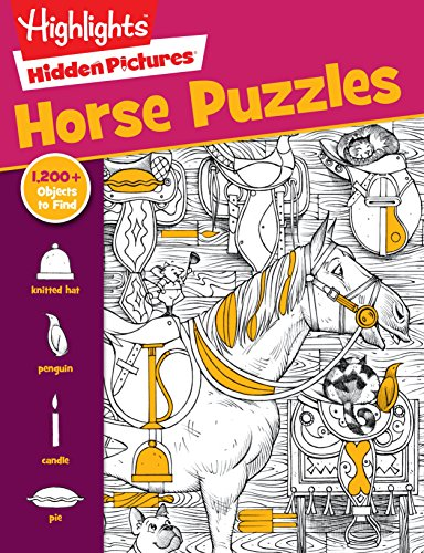 - Horse Puzzles (HighlightsTM Hidden Pictures®)