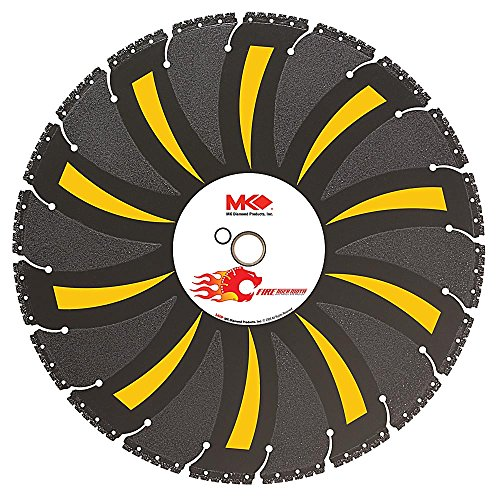 MK Diamond 14 in. x 20 Tooth General Purpose Demolition with Vacuum-Brazed Core Circular Saw Blade