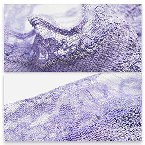 Zhhlaixing Alta calidad Lace Back Cotton Vest Hollow Quality Ladies Bottoming Tops for Women Purple/White/Black White