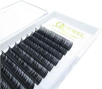 Eyelash Extension 0.05 D Curl Length 6mm Matte Black | Thicness0.03-0.20 C/D Curl Length 6mm-18mm Mix-8-14mm |