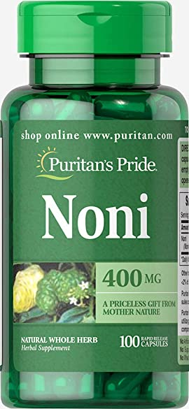 Puritans Pride Noni 400 Mg, 100 Count