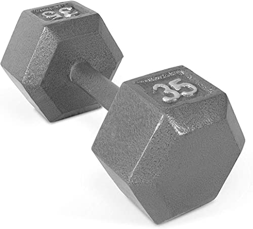 CAP Barbell Solid Hex Dumbbell