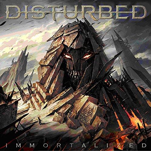 CD : Disturbed - Immortalized [Explicit Content] (CD)