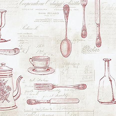 Manhattan Comfort Nwke29938 Staunton Kitchen Utensils Toile Textured