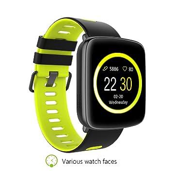 Amazon.com: GV68 Wristwatch Smart Watch Waterproof Summer ...