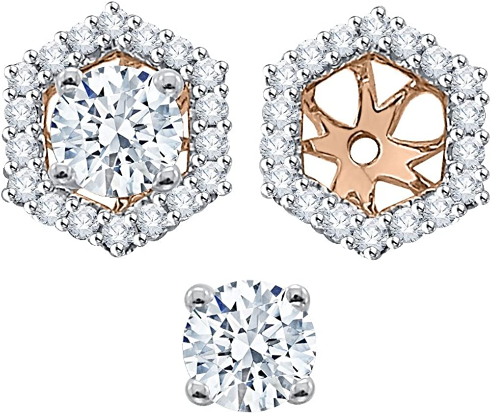 KATARINA Round Cut Diamond...