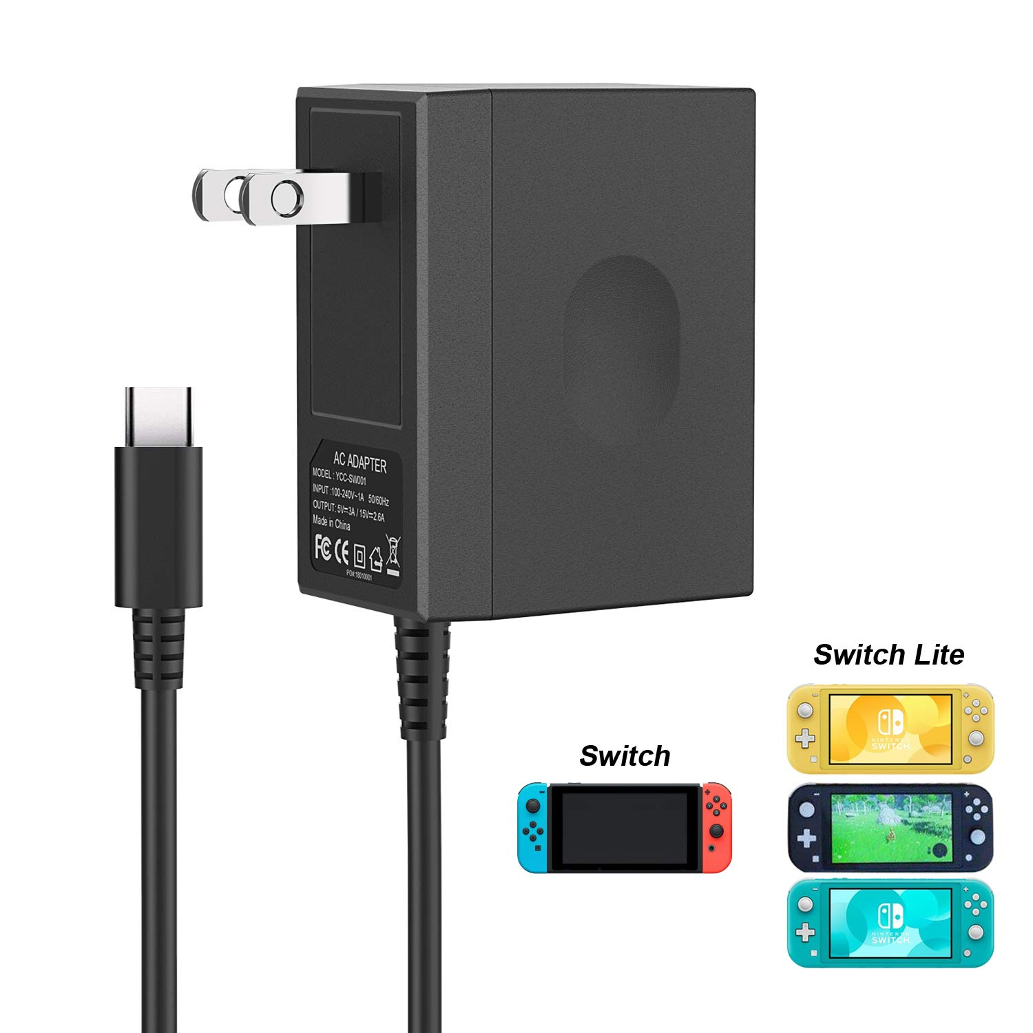 Charger for Nintendo Switch