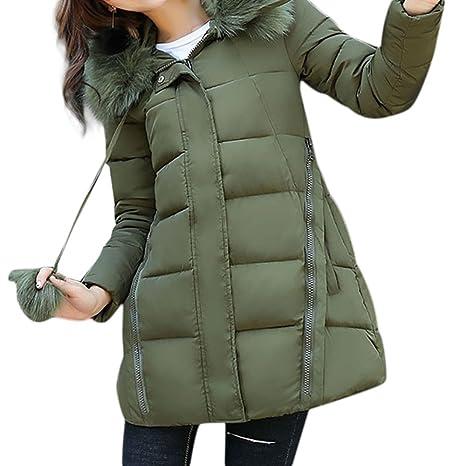 Amazon.com: VESNIBA Women Solid Thicker Winter Slim Down Lammy Jacket Hair Collar Coat Overcoat: Clothing