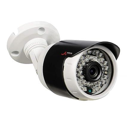 ANRAN Cámara de Vigilancia PoE 1080P HD Cámara de Seguridad en el Hogar al Aire Libre