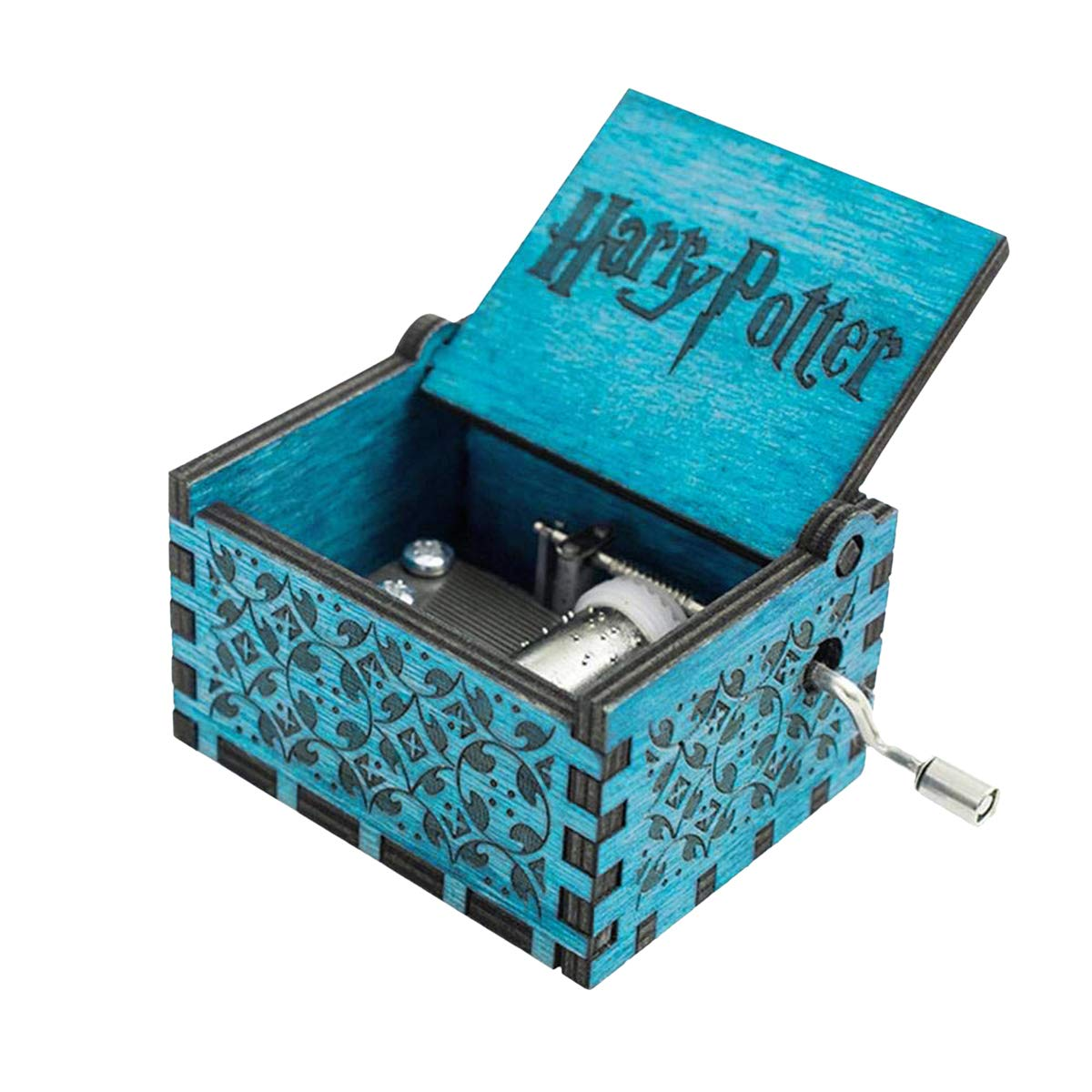 Surenhap Caja de m/úsica de Madera Premier de Harry Potter Caja Personalizada de Magic Personalizada Regalos para los fan/áticos Ni/ños