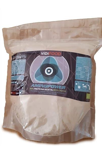 Proteína Aminopower ECO en Polvo   1kg   Mix Proteínas de Arroz, Guisante y Calabaza