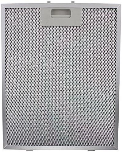 Baumatic F90.2SS Filtro Antigrasa Campana Extractora (Plata, 320 x 260mm): Amazon.es: Grandes electrodomésticos