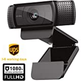HD Pro Webcam ,Widescreen Video Calling and Recording, 1080p Camera, Desktop or Laptop Webcam … (1PCS)
