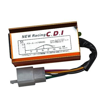 amazon com: jcmoto racing ignition ac cdi box 5 pin for 50cc 70cc 90cc  110cc 125cc atv quad pit dirt bike: automotive