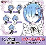 Re:Zero Starting Life in Another World Rem with Pillow Ver. Character Gacha Capsule Rubber Strap Mascot Anime Art
