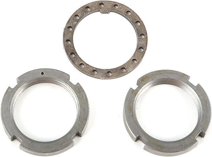 Yukon Gear /& Axle AK D44-NUTS-CJ Replacement Spindle Nut /& Washer Kit for Dana 30//Dana 44