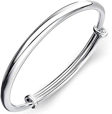 Silver Love Dolphin Cuff Bracelet Bangle Chain Wristband Women Fashion Jewelry
