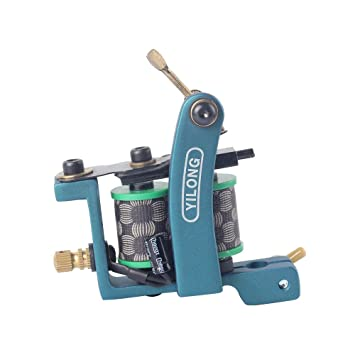 Complete Tattoo Machine Kit Set 2 Coils Guns 6 Colors Black Pigment Sets  Power Tatoo Beginner Grips Kits Permanent Makeup