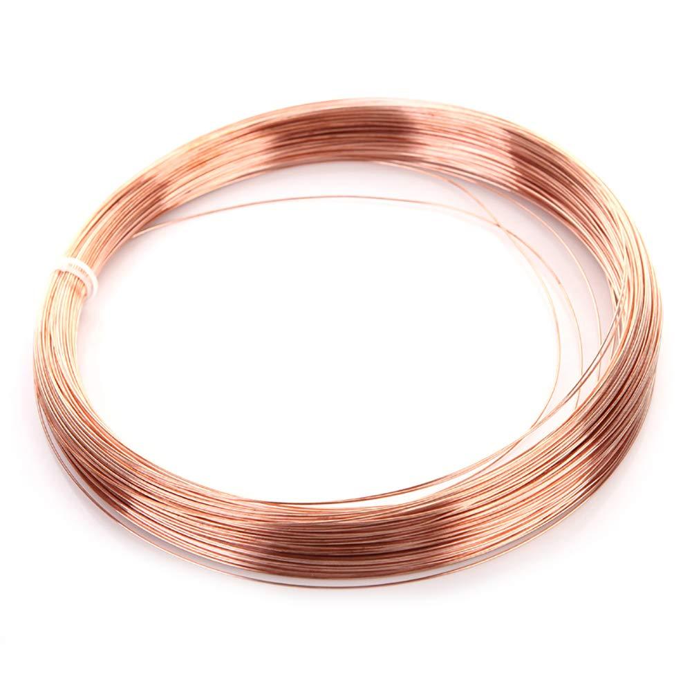 SOFIALXC Copper Line T2 Bare Wire (23.8 Ft Coil)-Diameter 2.5mm by SOFIALXC