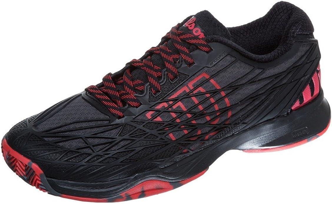 Wilson Kaos Clay Court Bk, Zapatillas de Tenis Hombre, Negro ...