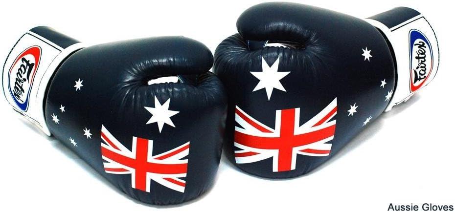 FAIRTEX MUAY THAI KICK BOXING MMA K1 FIGHTING SATIN SHORTS NATION FLAG LOGO STAR