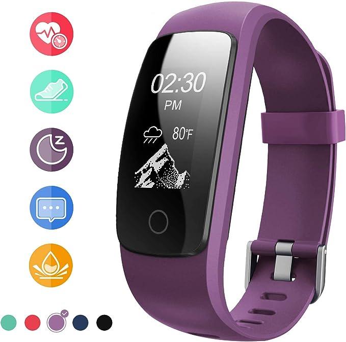 Runme Activity Tracker, Fitness Tracker con monitor de ritmo ...