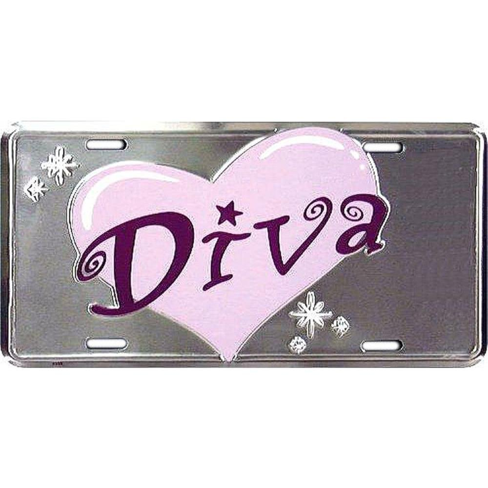 License Plate Signs 4 Fun Sld Diva