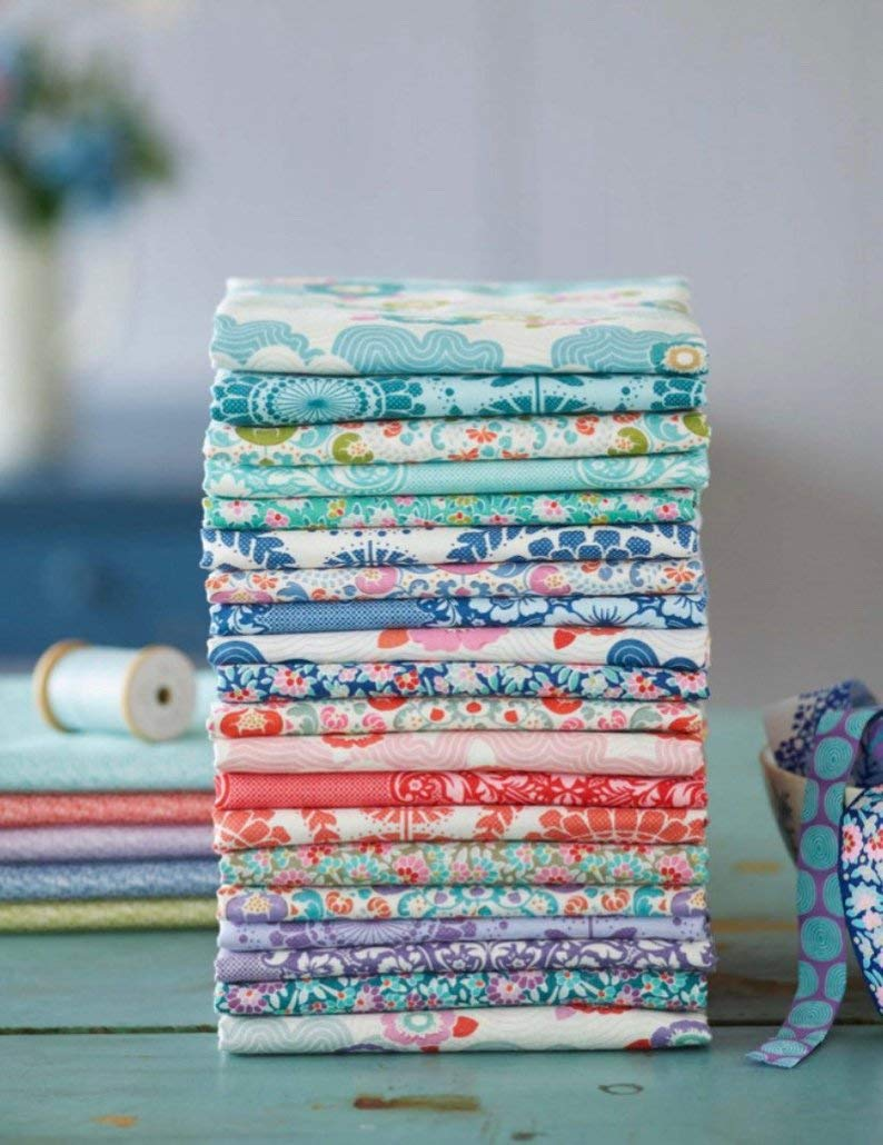Tilda Lazy Days Tone Finnanger Quilting Cotton Fabrics ~ 20 Fat Quarters Bundle ~ 5.5 Yards Total