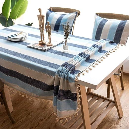 ZAMAC Mantel Mesa Rectangular para Cocina Salón Decoración ...