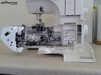 Máquina de Coser Overlock Jaguar Starter (Entrante) 098: 3/4/ Hilo ...