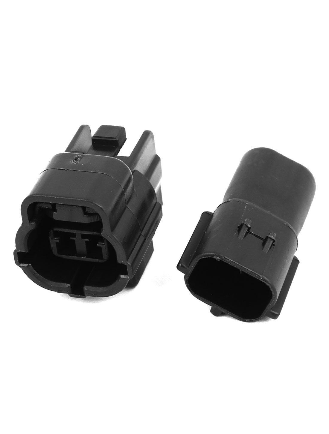 Amazon.com: eDealMax 2 Conjunto DE 2 vías Sellado conectores de Cable a prueba de agua: Car Electronics